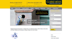 Preview of clarkemews.co.uk