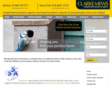 Tablet Preview of clarkemews.co.uk